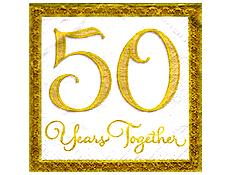 50th  wedding