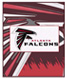 CLICK to PRINT Free Printable Party Invitations for Atlanta Falcons Parties