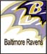 CLICK to PRINT Free Printable Party Invitations for Baltimore Ravens Parties