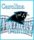 CLICK to PRINT Free Printable Party Invitations for Carolina Panthers Parties