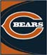 CLICK to PRINT Free Printable Party Invitations for Chicago Bears Parties