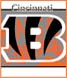 CLICK to PRINT Free Printable Party Invitations for Cincinnati Bengals Parties