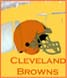 CLICK to PRINT Free Printable Party Invitations for Cleveland Browns Parties
