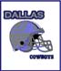 CLICK to PRINT Free Printable Party Invitations for Dallas Cowboys Parties