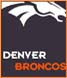 CLICK to PRINT Free Printable Party Invitations for Denver Broncos Parties