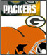 CLICK to PRINT Free Printable Party Invitations for Green Bay Packers Parties