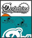 CLICK to PRINT Free Printable Party Invitations for Miami Dolphins Parties