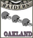 CLICK to PRINT Free Printable Party Invitations for Oakland Raiders Parties