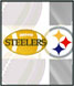 CLICK to PRINT Free Printable Party Invitations for Pittsburgh Steelers Parties