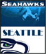 CLICK to PRINT Free Printable Party Invitations for Seattle Seahawks Parties