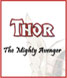 CLICK to PRINT Free Printable Party Invitations for Thor: The Mighty Avenger Parties