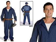 Brick Layer Jumpsuit Halloween Costumes