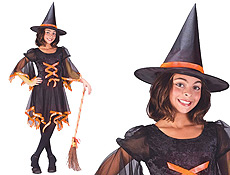 Ribbon Witch Halloween Costumes