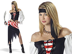 The Pirate Beauty Halloween Costumes