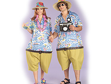 Tropical Tourist Costume Adult Male Humorous Halloween Costume