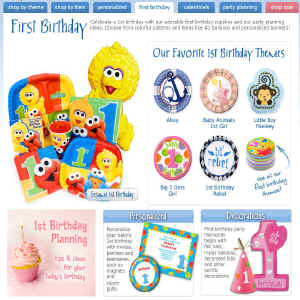 Shop for 1st Birthday