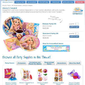 Shop for Disney's Tangled