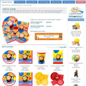 Shop for Curious George