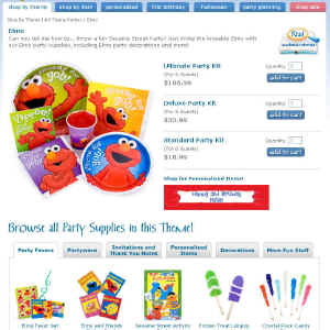 Shop for Elmo