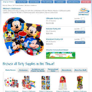 Shop for Mickey Mouse
