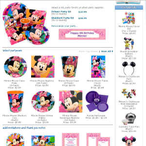Shop for Minnie Mouse