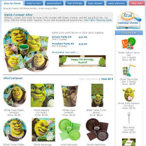 Shop for Shrek