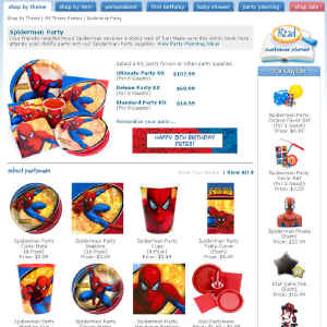 Shop for Spiderman