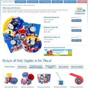 Shop for Thomas the Tank Engine