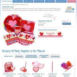 Shop for Valentines Day