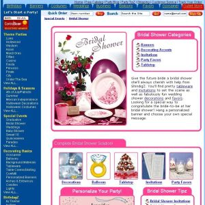 Shop for Bridal Shower