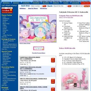 Fairy Princess Party Supplies