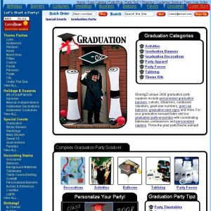 Shop for Graduation
