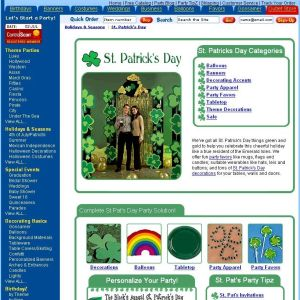 Shop for St Patricks Day