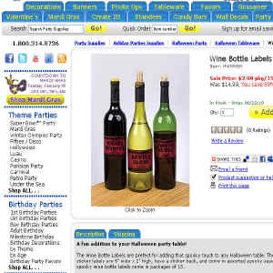 Shop for Wine Tasting