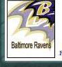 Baltimore Ravens Placename Cards