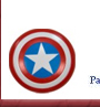 Captain America Placename Cards