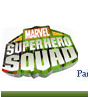 Marvel Super Hero Squad Placename Cards